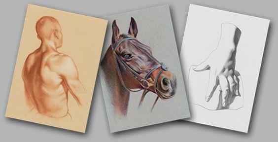 123 Atelier – Cours de dessin en ligne